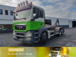 containersysteem vrachtwagen MAN TGS 26.360 Containersysteem 2010