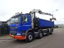 containersysteem vrachtwagen Ginaf X 4241 8 X 4 + NCH KABEL + HMF 1250 CRANE 2009