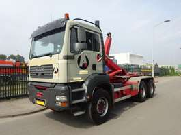 containersysteem vrachtwagen MAN TGA 33.430 6 X 4 !! MANUAL GEARBOX + KEURING !! TUV !! 2006
