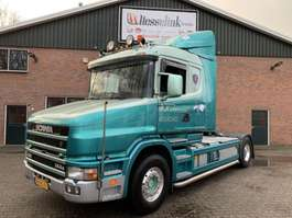standaard trekker Scania T144 460 V8 Torpedo 4X2 Retarder, Top condition - NL Truck 1999