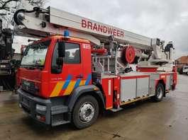 brandweerwagen vrachtwagen MAN 18-280 LE 4X2 + MAGIRUS ELEVATOR ALP 270 = 27M 2006