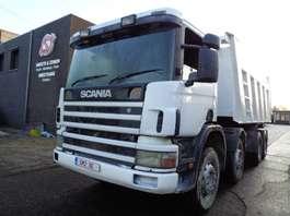 kipper vrachtwagen Scania 124 420 8x4 2004