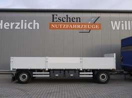 platte aanhanger vrachtwagen N&S Pritsche Drehschemel Pritsche 2013