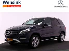 gesloten bestelwagen Mercedes Benz GLE 250D VAN 7G Automaat   Panoramadak   Trekhaak   Parktronic   Navigat... 2016