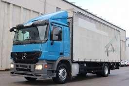 huifzeil vrachtwagen Mercedes Benz Actros 1832 E5 LBW AHK MP3 Bett Standheizung 2010