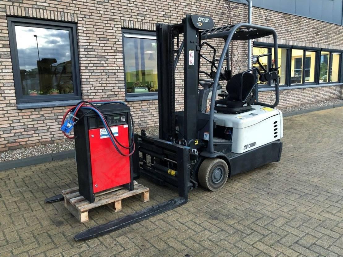 vorkheftruck Crown SCD5340-1.6 1.6 ton Elektra Sideshift Positioner heftruck 2014