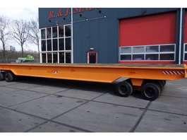 platte aanhanger vrachtwagen Mafi 1190 2/2 2000