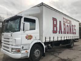 schuifzeil vrachtwagen Scania 94 220 **BELGIUM TRUCK-BOX 8.50** 2001