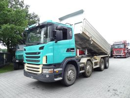kipper vrachtwagen > 7.5 t Scania G440 8X4 2010