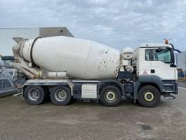betonmixer vrachtwagen MAN TGS 37.360 8x4 10m3 mixer EURO6 2014