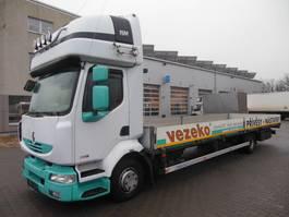 platform vrachtwagen Renault Midlum 220.12 DXi, Pritsche 8.7 m 2011