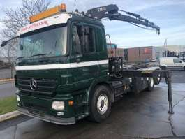 containersysteem vrachtwagen Mercedes Benz ACTROS 2544L 6X2 + HIAB 220-4 2007