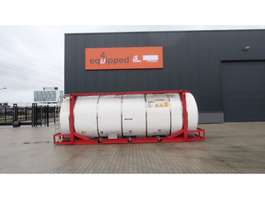tankcontainer Van Hool 20FT SWAP-BODY, 33.600L/4-compartments, IMO-4, L4BN, 5y insp. t... 1999