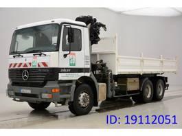 kipper vrachtwagen > 7.5 t Mercedes Benz Actros 2631 - 6x4 2000