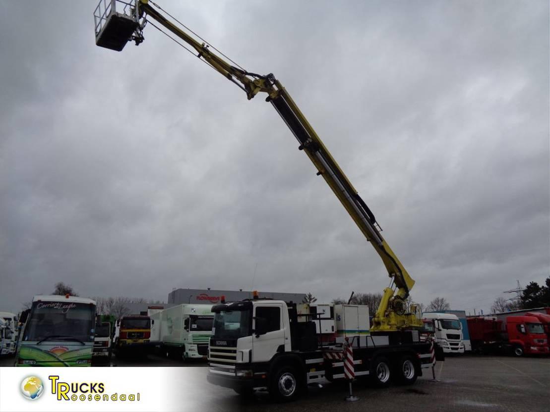 autohoogwerker vrachtwagen Scania 94G 260 + COMET 24METER + MANUAL 2002
