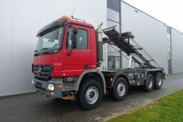 containersysteem vrachtwagen Mercedes Benz ACTROS 3244 8X4 CHASSIS FULL STEEL EURO 5 2006
