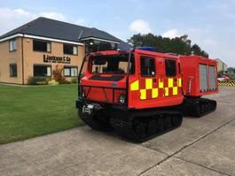 brandweerwagen vrachtwagen Hagglunds BV206 Fire Appliance 1985