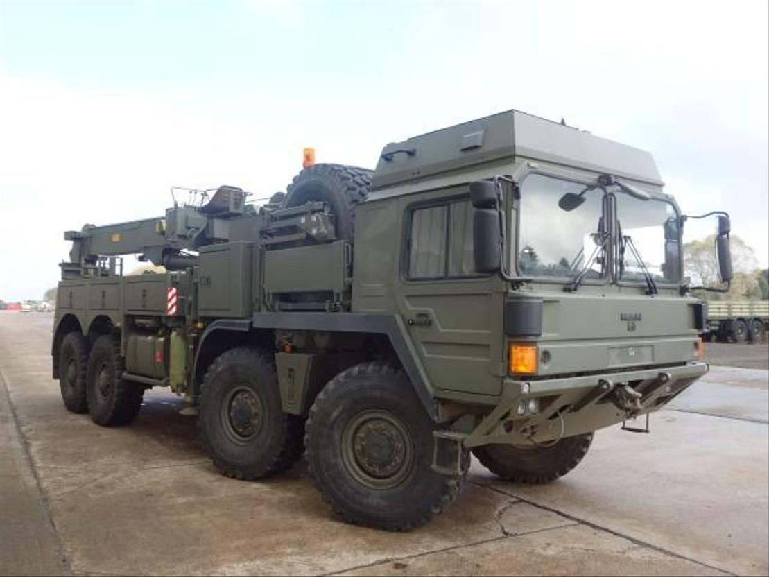 takelwagen-bergingswagen-vrachtwagen MAN SX45 8x8 Recovery 2008