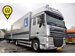 bakwagen vrachtwagen DAF XF105 410 SSC COMBI LES WAGEN EURO5 DUBBEL DASHBOARD 2009