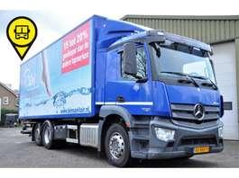wissellaadbaksysteem vrachtwagen Mercedes Benz ANTOS 2530 6X2 BDF LIFT+STUUR AS EURO 6 2013