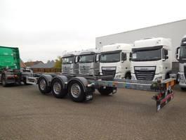 container chassis oplegger Van Hool 3B0079 FLEXITRAILER MULTI MERCEDES-assen Schijfremmen Lift-as 6 UNITS 2014