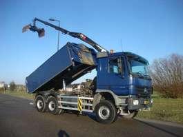 kipper vrachtwagen Mercedes Benz ACTROS 3341 AK 6x6 2009