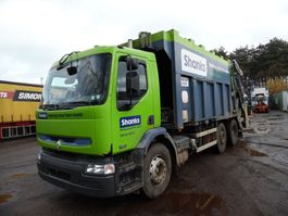 vuilniswagen vrachtwagen Renault Premium 320 6x2 vuilniswagen