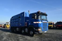 kolkenzuiger vrachtwagen Scania R 420 / 8x4 / MTS Saugbagger / EURO 5 2009