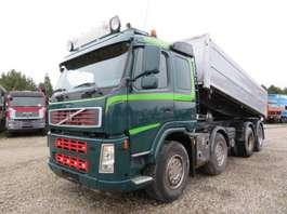 kipper vrachtwagen Volvo FM440 8x4 Pendeltip Euro 4 Full steel 2009