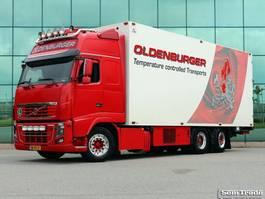 koelwagen vrachtwagen Volvo FH16 750 6X2  FULL OPTIONS   THERMO KING UT 2012