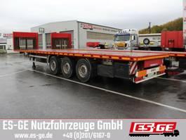 platte oplegger ES-GE 3-Achs-Sattelanhänger, Containerverriegelungen 2017