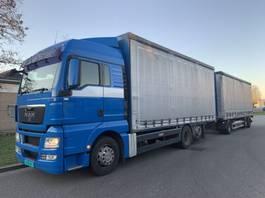 schuifzeil vrachtwagen MAN TGX 26.480 6X2 COMBY 2009