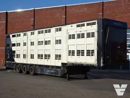 vee oplegger Michieletto 3 Stock Livestock trailer 2007