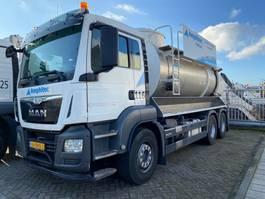 kolkenzuiger vrachtwagen MAN TGS 26.320 6x4 BB Vacuum 2016