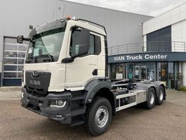 containersysteem vrachtwagen MAN New Generation TGS 33.470 6x4 BL-NN containerhaak wb 3900 3x 2021