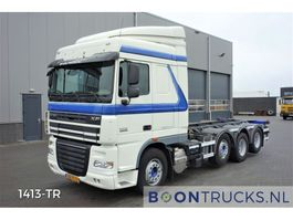 containersysteem vrachtwagen DAF XF105.460 8x2   EURO 5 * 20ft CONTAINERFRAME 2010