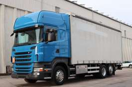 huifzeil vrachtwagen Scania R440 6x2 Retarder LBW E5 TopLine 2011