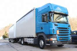 huifzeil vrachtwagen Scania R440 Pritsche Plane Zug 2011
