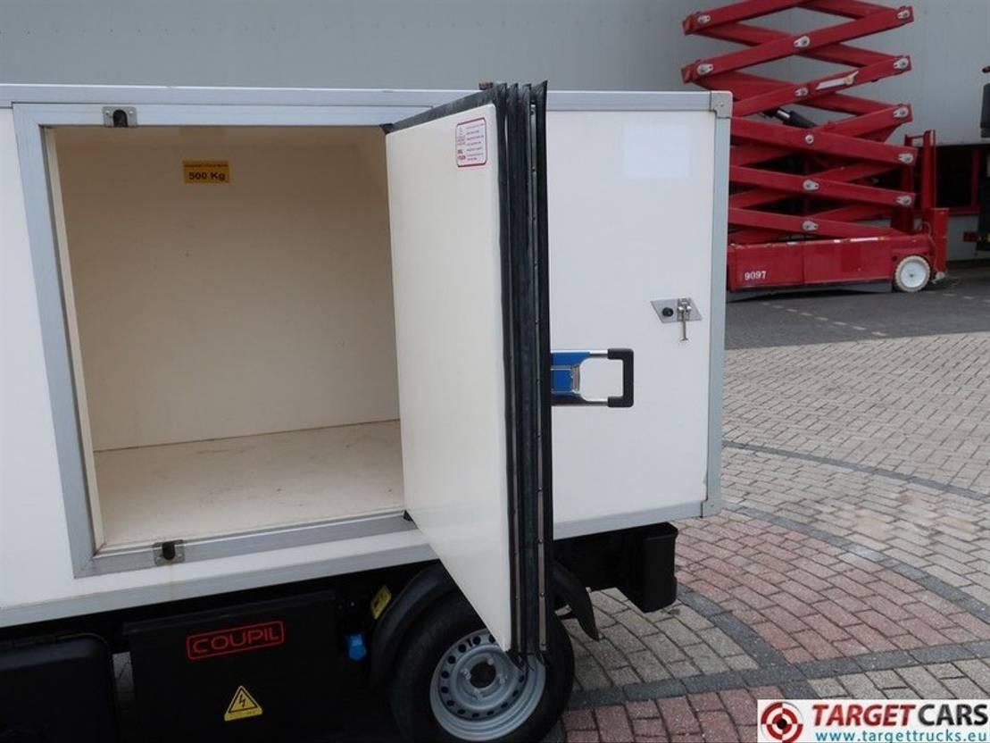 koelwagen bestelwagen DIV. Goupil G3 Electric UTV Utility Closed Box Fridge Van 2012