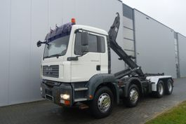 containersysteem vrachtwagen MAN TGA32.440 8X4 FULL STEEL EURO 5 2008