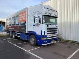 bakwagen vrachtwagen Scania SCANIA 144-530 6X2 BAKWAGEN SUPER MOOI !!!! 1999