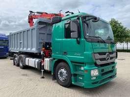 kipper vrachtwagen Mercedes Benz ACTROS 2548 6X2 - KIPPER TRUCK - EPSILON Q150L83 - RETARDER 2012