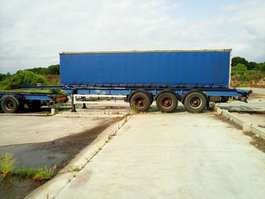 chassis oplegger container chassis
