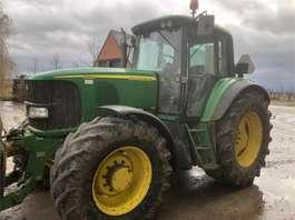 standaard tractor landbouw John Deere 6520PQ 2006