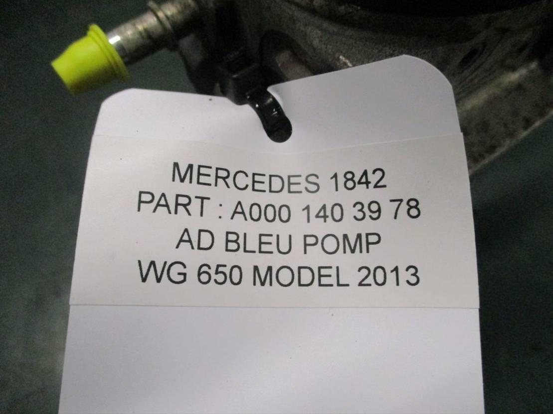 brandstof systeem bedrijfswagen onderdeel Mercedes Benz A 000 140 39 78