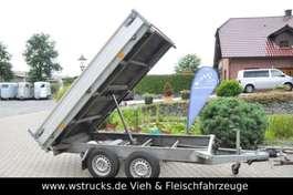 platte aanhanger vrachtwagen Hapert Rückwärtskipper Tüv NEU