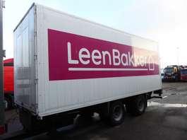 gesloten opbouw aanhanger VAN HOLTEN Koffer, 49 m3, LBW, TUV/APK: 06/2020 2006