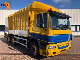 vuilniswagen vrachtwagen DAF CF 75.310 Carbage truck  23 M³ Schijndel 2008