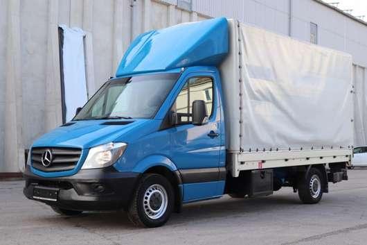 huifzeil vrachtwagen Mercedes Benz Sprinter 316 CDI Euro5 Tempomat Klima LBW AHK 2016