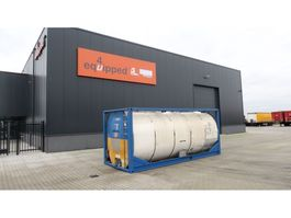 tankcontainer Van Hool 25.000L TC, 2 comp. (12.500L/12.500L), IMO-1, T11, valid inspection: 03/... 1995